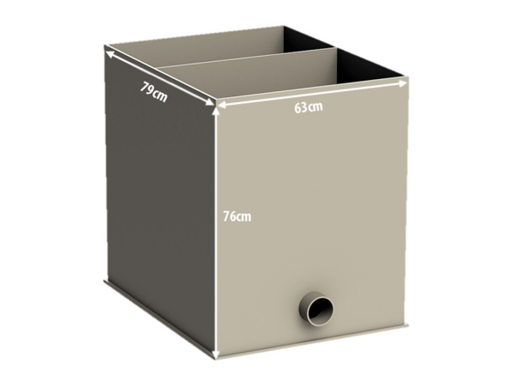 Биокамера для барабанного фильтра