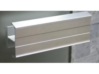 Алюминиевая ручка SAWO SP01-130 740-R для двери в сауну или баню