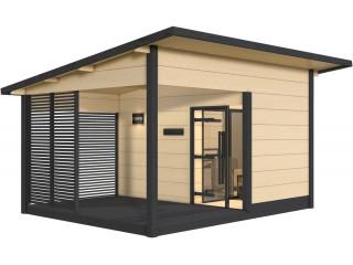 Сауна Harvia Solide Outdoor SLD02PS с дровяной печью