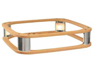 Деревянный поручень Harvia HRE2 со светодиодной подсветкой (из ольхи, для электрокаменки Elegance)