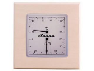 Термогигрометр SAWO 225-THA (квадратный)
