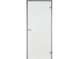 Дверь Harvia с алюминиевой коробкой 9х21 (стекло прозрачное, артикул DA92104)