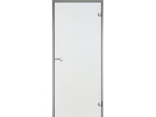 Дверь Harvia с алюминиевой коробкой 8х19 (стекло прозрачное, артикул DA81904)