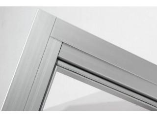 Комплект алюминиевых наличников для дверей Harvia 9x19–21 (артикул SAZ037)