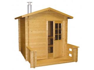 Отдельно стоящая сауна Harvia Kuikka SO2200 с дровяной печью