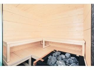 Сауна Harvia Solid Indoor S2119LD с электрокаменкой
