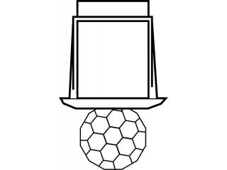 Светильник-кристалл Harvia ZVK-531 для турецкой парной
