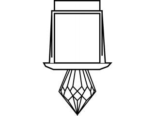 Светильник-кристалл Harvia ZVK-533 для турецкой парной
