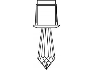 Светильник-кристалл Harvia ZVK-534 для турецкой парной